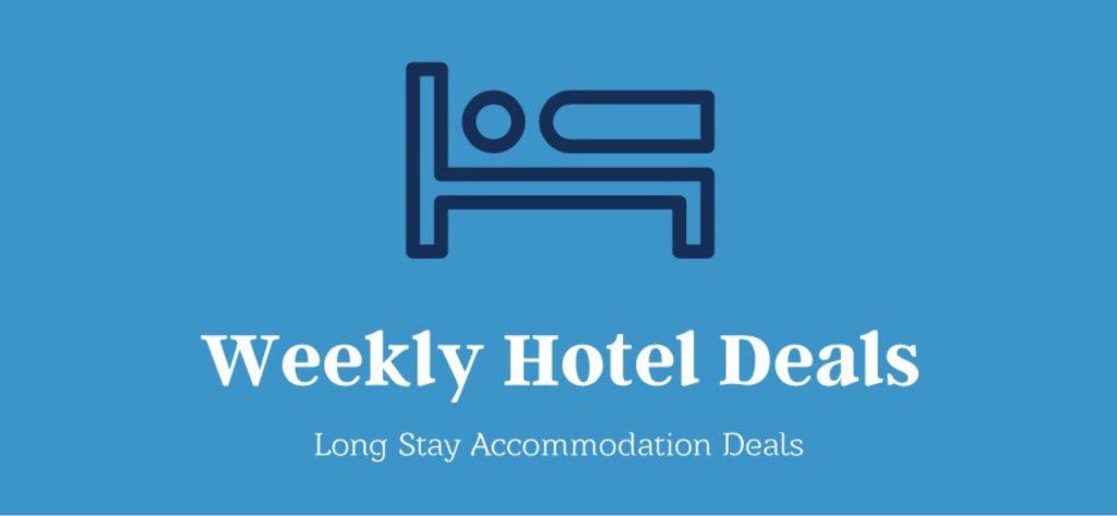 Weekly hotel deals logo